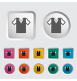 T shirt vector image vector image
