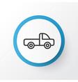 pickup icon symbol premium quality isolated vector image