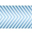Bright blue hi-tech arrows design vector image vector image