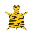 Leopard fur icon vector image
