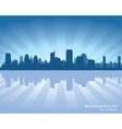 Sacramento California skyline vector image