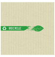 Recycle conceptual element vector image