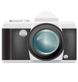 camera isolated vector image
