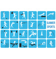 summer sports vector image