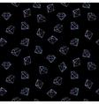 Jewels fashion seamless pattern vector image