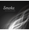 Abstract smooth smoke background vector image