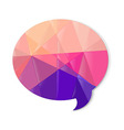 Color Speech Bubble vector image