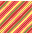 Color Striped Diagonal vector image vector image