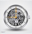 hours of gears vector image