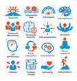 business management icons pack 06 vector image