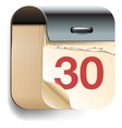 Calendar Date icon vector image vector image