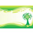 wallpaper for spring vector image vector image