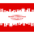 greeting gift vector image vector image