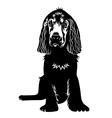 Dog 001 vector image