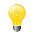 Lightbulb Isolated icon pictogram vector image