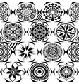 seamless pattern modern stylish texture with vector image