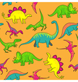 Dinosaurs pattern vector image