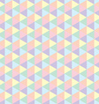 Polygon seamless background vector image