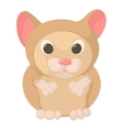 Hamster icon cartoon style vector image