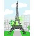 Cartoon Paris vector image