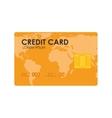 card money credit global vector image