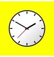 Clock icon flat design EPS10 vector image