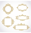 decorative frame vector image