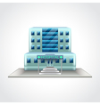Hospital building isolated vector image