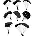 parachutes vector image vector image