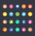 Glyphs Colored Icons 35 vector image