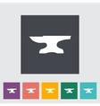 Anvil Blacksmith equipment vector image