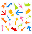 arrow icon4 vector image vector image