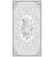 Ottoman art of illumination vector image