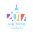 text Design 2017 vector image