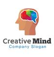 Creative Mind Design vector image
