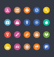 Glyphs Colored Icons 37 vector image