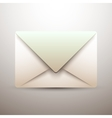 Old mail icon - vector image