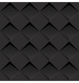 Black 3d background vector image vector image