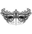 carnival mask venetian carnival vector image