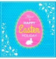 Happy Easter Typographical Background Easter - vector image
