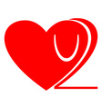 Love you too icon Love u 2 clipart Isolated vector image