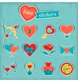 Set of Valentines and Wedding icons design vector image