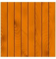 Wooden background with hardwood planks vector image