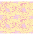 Art flower pattern vector image