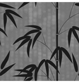 Seamless pattern drawn japanese style bamboo on a vector image