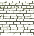 Simple background of old brickwork design vector image