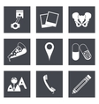 Icons for Web Design set 23 vector image