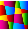 Abstract Bright Colorful Geometric Background vector image