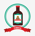 mexican drinks design vector image