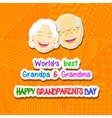 Grandparents Day vector image vector image